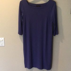 Eileen Fisher square neck shift dress
